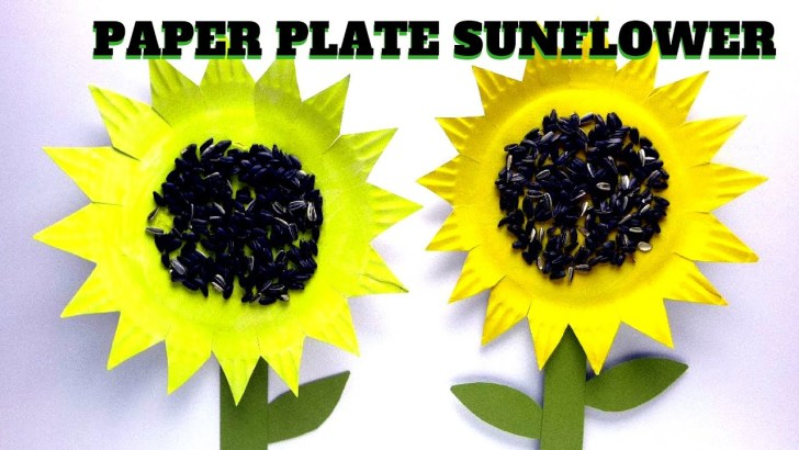 33+ Brilliant Image of Sunflower Paper Plate Craft