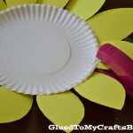 Sunflower Paper Plate Craft Paper Plate Sunflower Craft Once Your Paper Plate Is Finished
