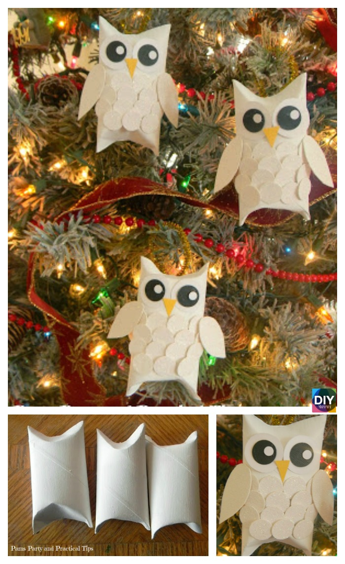 The simple paper owls crafts idea 10 Cutest Diy Toilet Paper Roll Crafts For Kids Diy 4 Ever