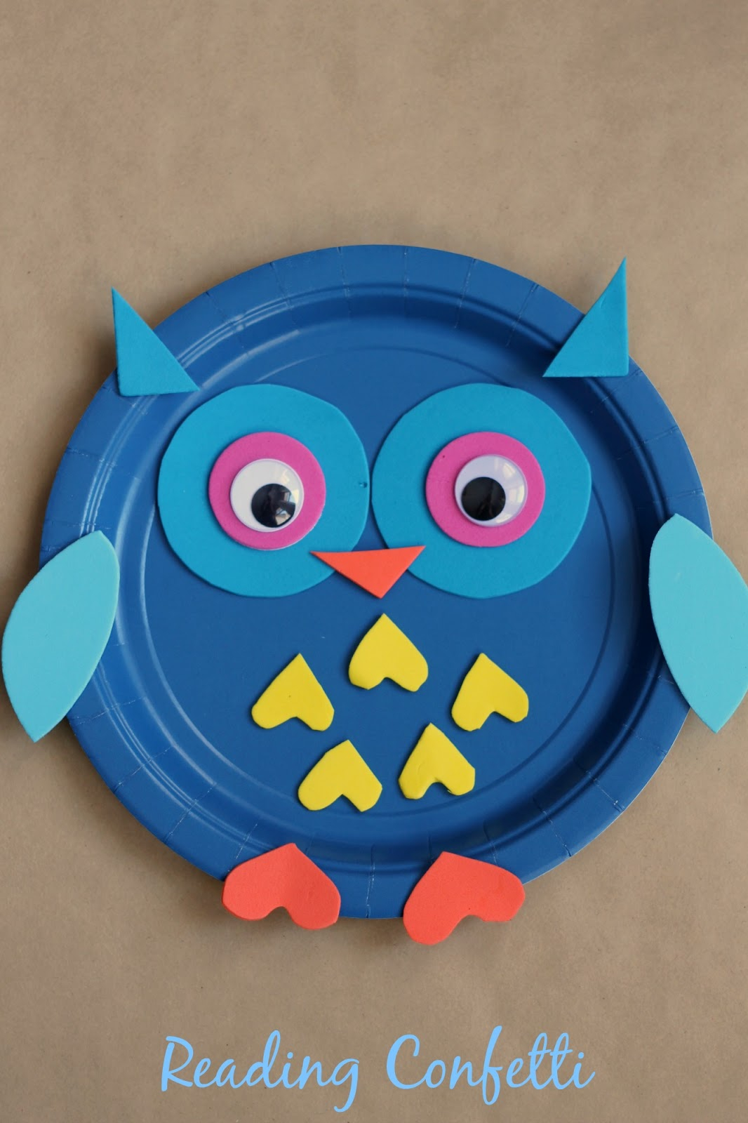 The simple paper owls crafts idea Fall Crafts With Owls For Kids