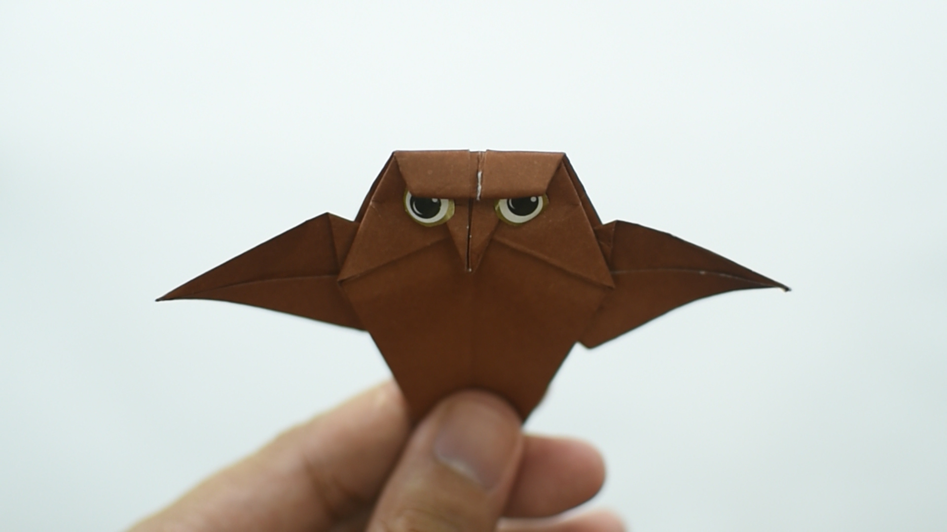 The simple paper owls crafts idea How To Make An Origami Owl With Pictures Wikihow