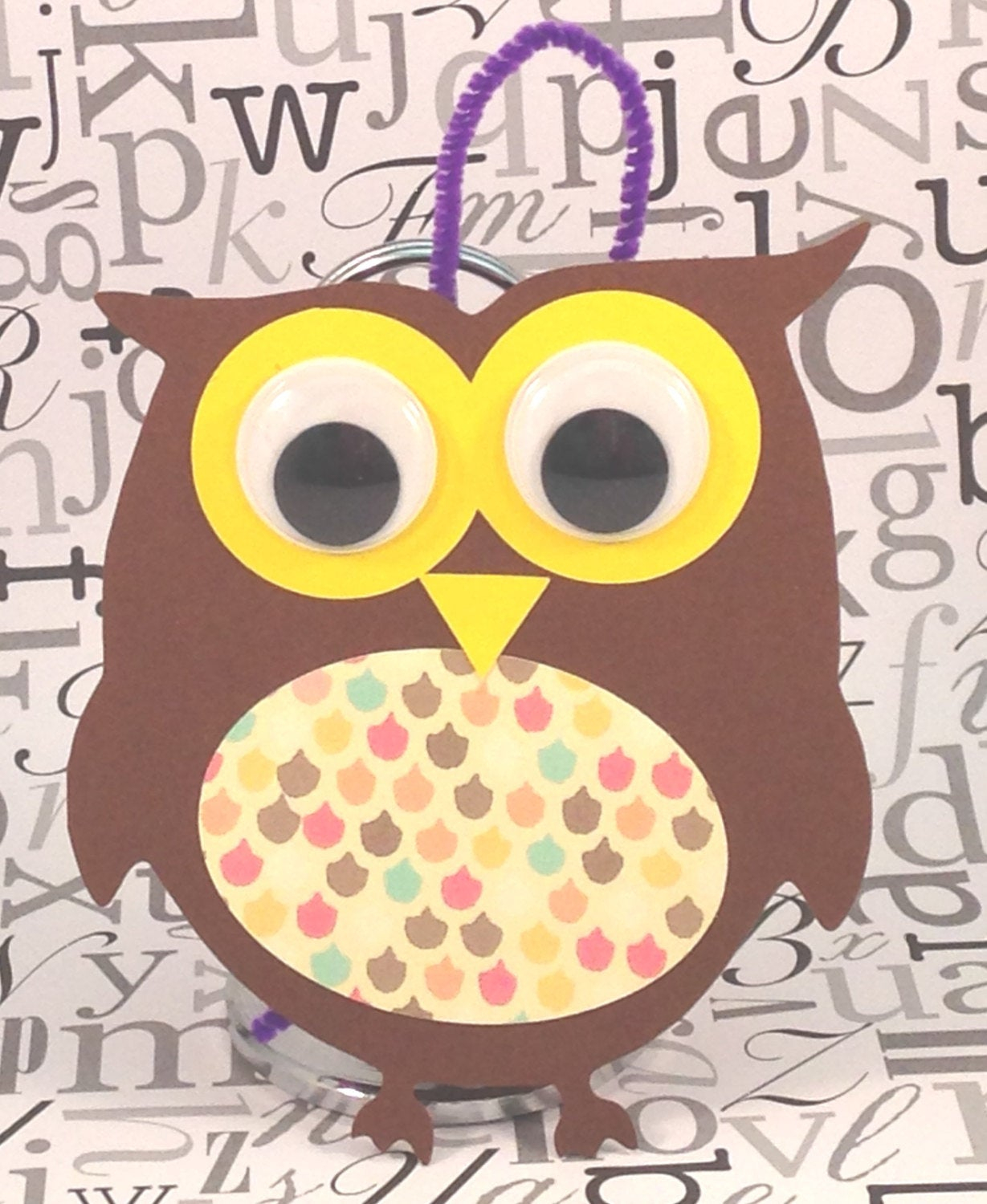 The simple paper owls crafts idea Owl Ornament Bird Animal Craft Kit For Kids Birthday Party Favor Decoration Arts And Crafts Stocking Stuffer Or Scrapbooking