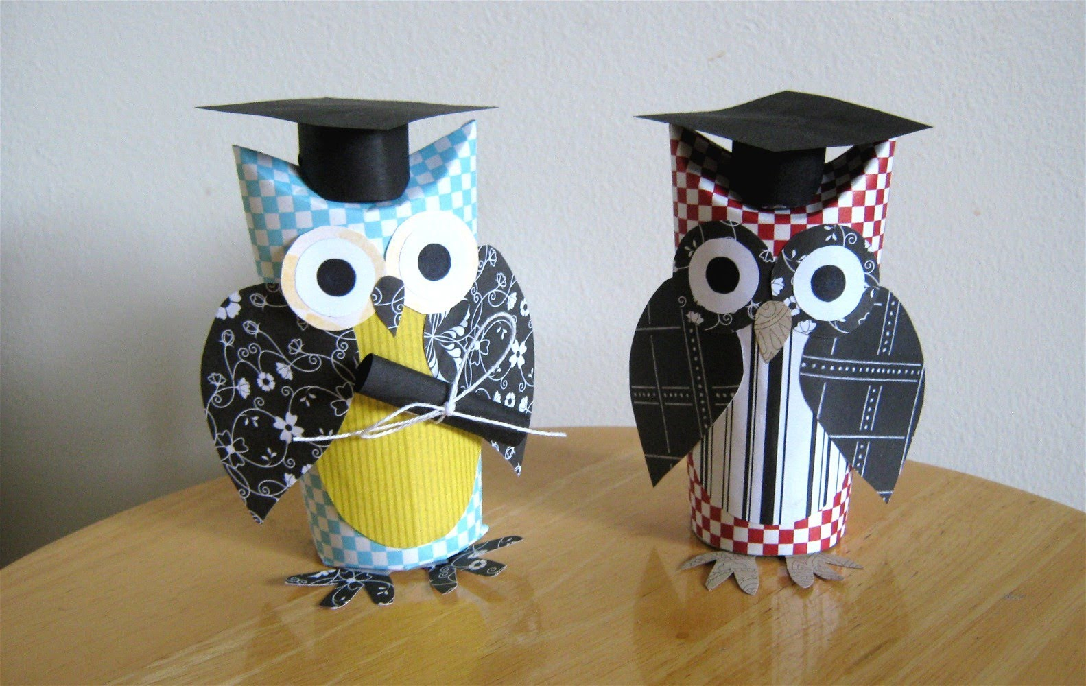 The simple paper owls crafts idea Toilet Paper Roll Owl Crafts Best Cool Craft Ideas