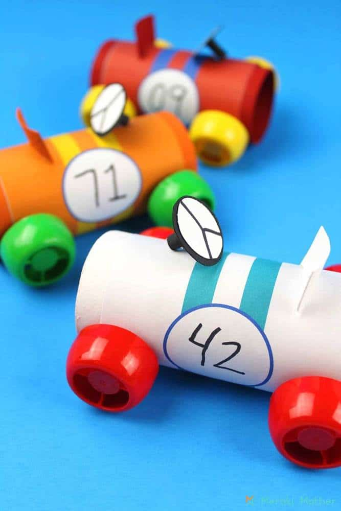 Toilet Paper Roll Car Craft for Preschool Students ...