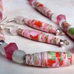 Tutorial On Creating Paper Beads Craft Durable Handmade Paper Beads 6 Steps With Pictures