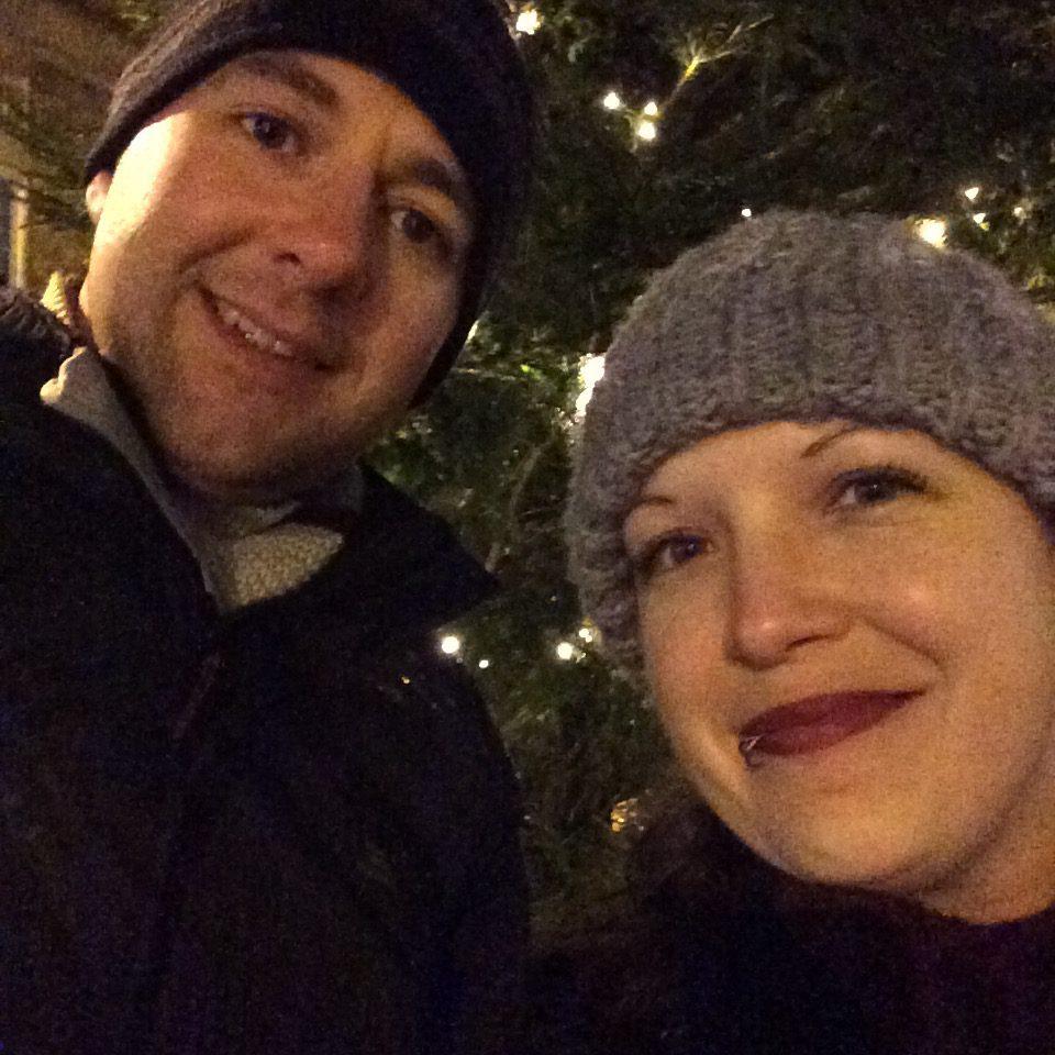 Stu and I at City of Light
