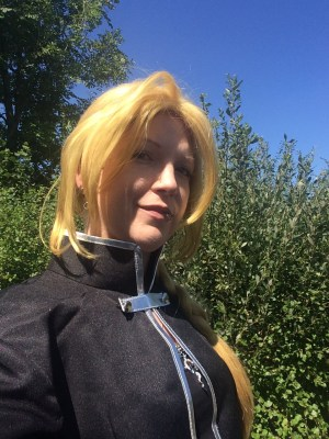 Me in Ed Elric cosplay