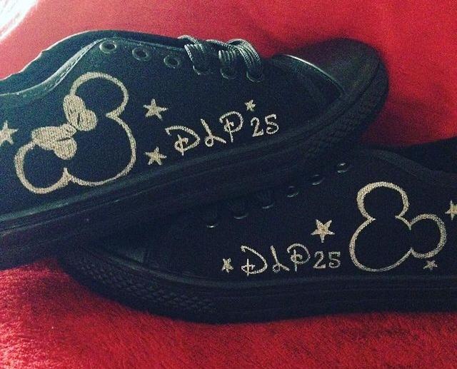 Disneyland Paris 25th Anniversary shoes