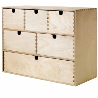 Wooden Ikea Chest of Drawers