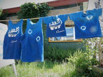 CANOE/藍染め