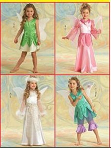 girls costume pattern