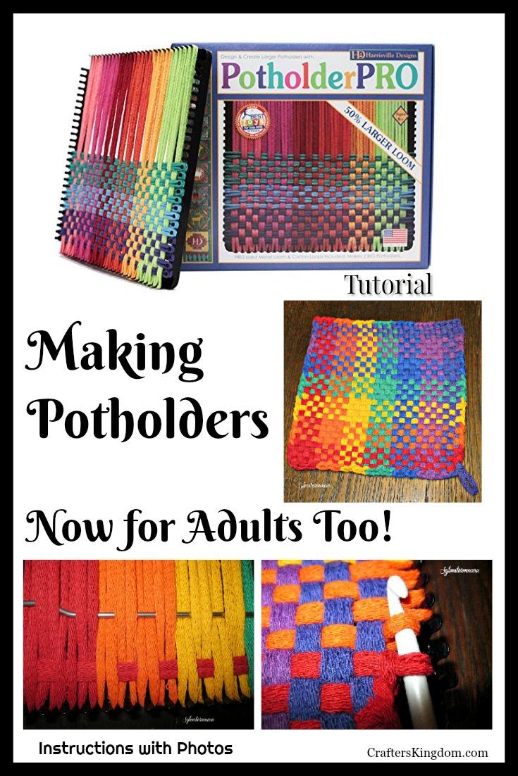Potholder Pro Loom Kit - Large Potholder