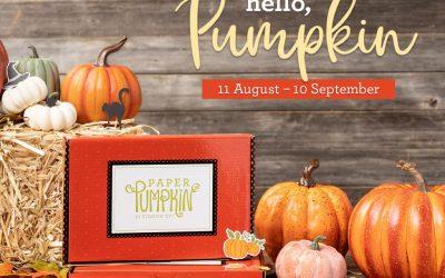 Hello Pumpkin by Paper Pumpkin