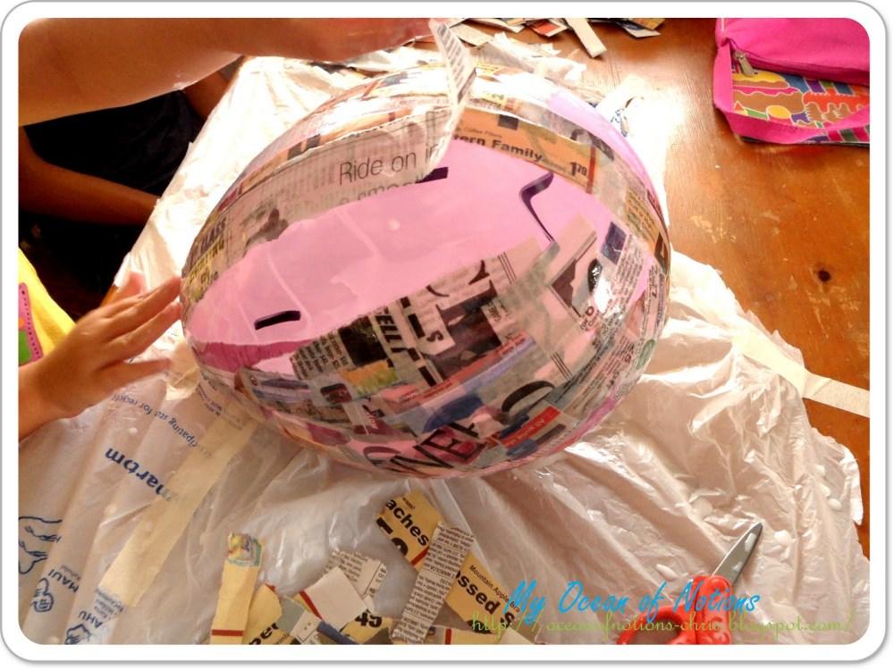 Piñata en forma de fresa (2/6)