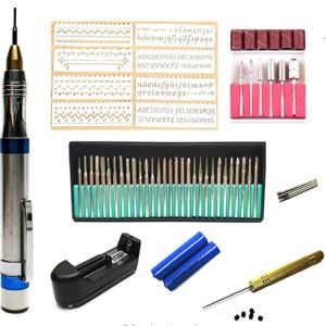 Festnight Electric Nail Drill Buffer Kit 220V