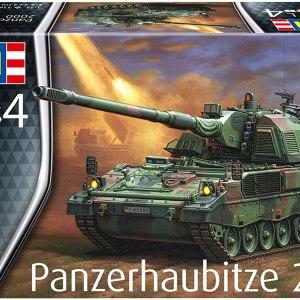 Revell RV03279 Kit 1:35 - Panzerhaubitze 2000 Plastic Model, Green, 1/35