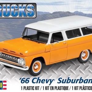 Revell Trucks '66 Chevy Suburban