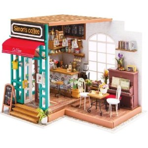 Rolife DIY House Simon's Coffee 3D Puzzle