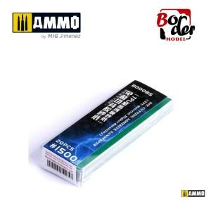 Die-Cutting Adhesive Sandpaper (TPU Material) 20pcs 1500