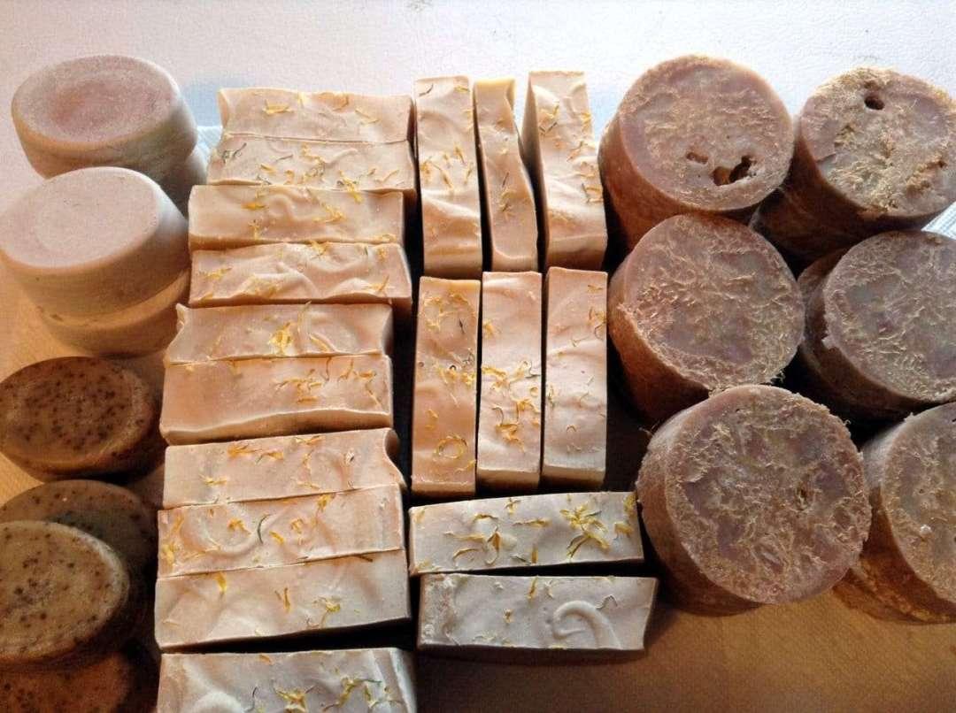 Blackberry Ridge Farm goat milk soaps - Wolcott, VT 05680