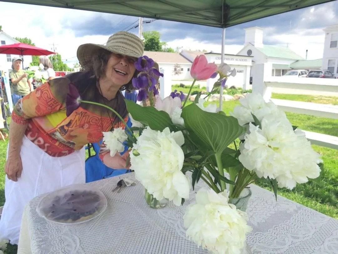 June Cook - Junes Flowers - Craftsbury Farmers Market