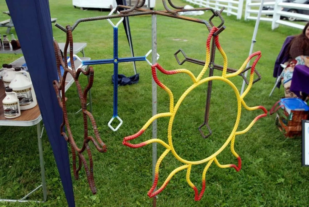 Phil Beaudry - iron work - Craftsbury Farmers Market