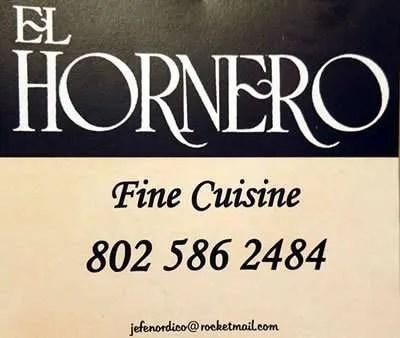 El Hornero Fine Cuisine - Craftsbury, VT