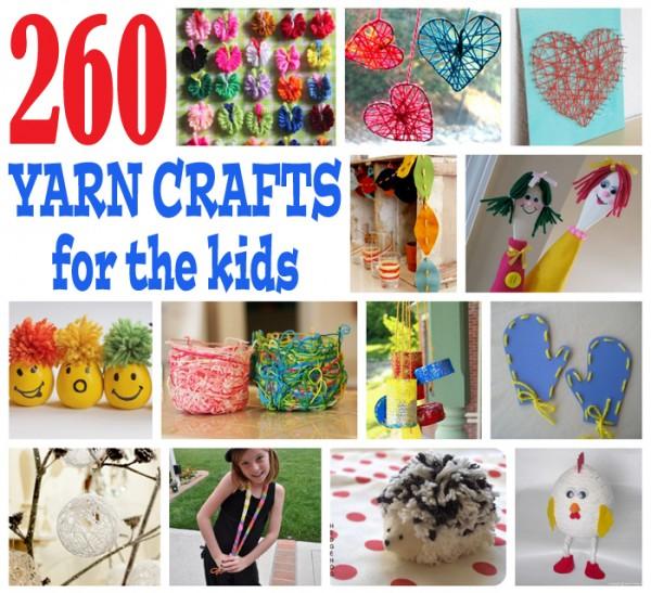 Yarn Crafts Kids Without Knitting
