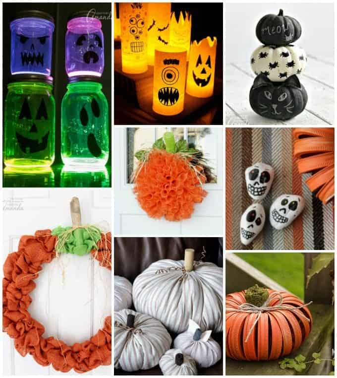 50 Diy Halloween Decorations Homemade Halloween Decor