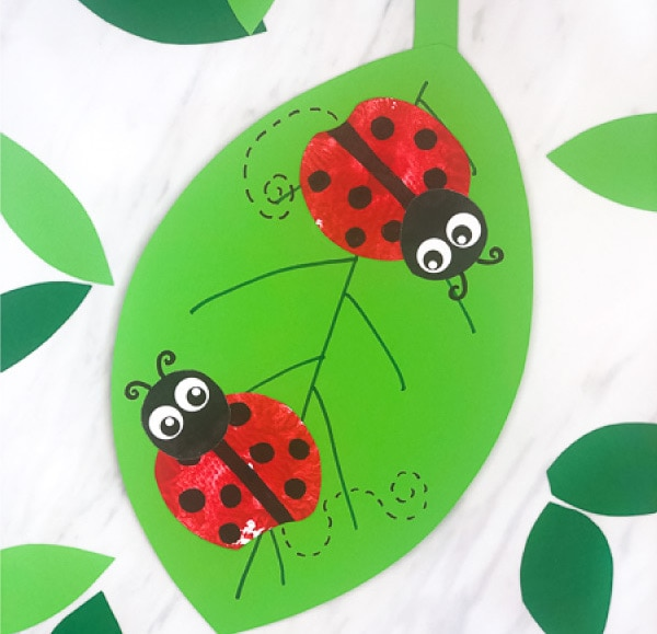 Clean your rock and paint away! 25 Ladybug Crafts And Recipes All Sorts Of Ladybug Craft Ideas