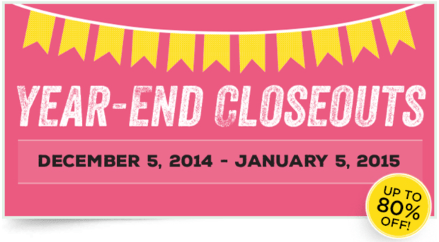 Year-End Closeout!