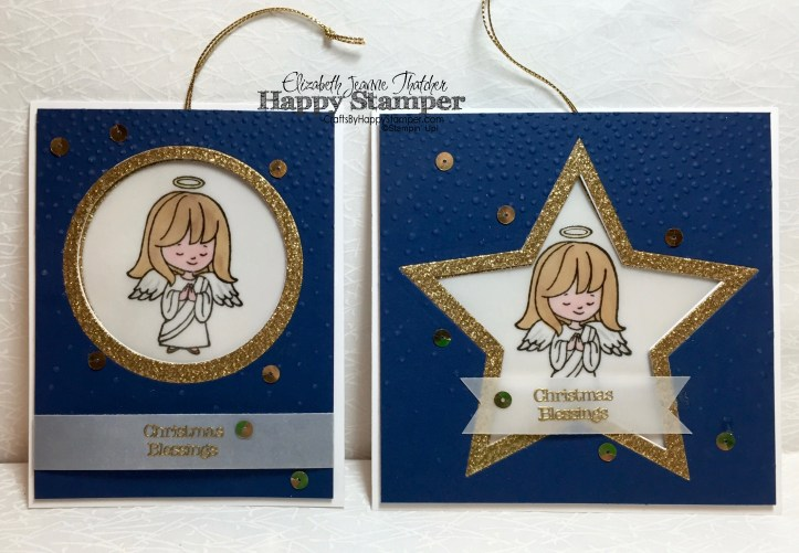 Stampin Up, Ornament Cards, Christmas Cuties
