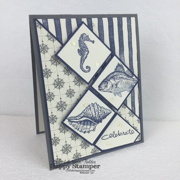 Stampin Up, By the tide, brushstrokes, going global, nautical, endless birthday wishes