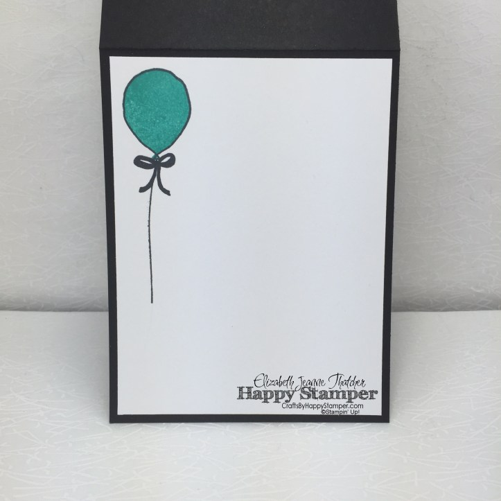 Stampin Up, Greatest Greetings, Cherry On Top, Balloon Bouquet Punch