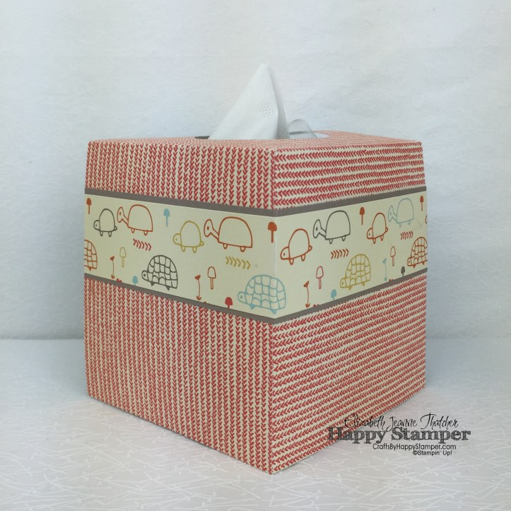 Stampin Up, Tissue Box, 3D, Get Well