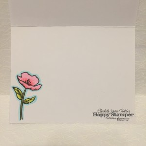 Stampin Up, Birthday Blooms, crafts, diy, copic, birthday, CAS, CYCI