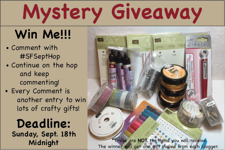 Sept Giveaway