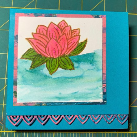 lily, stampin up, watercolor