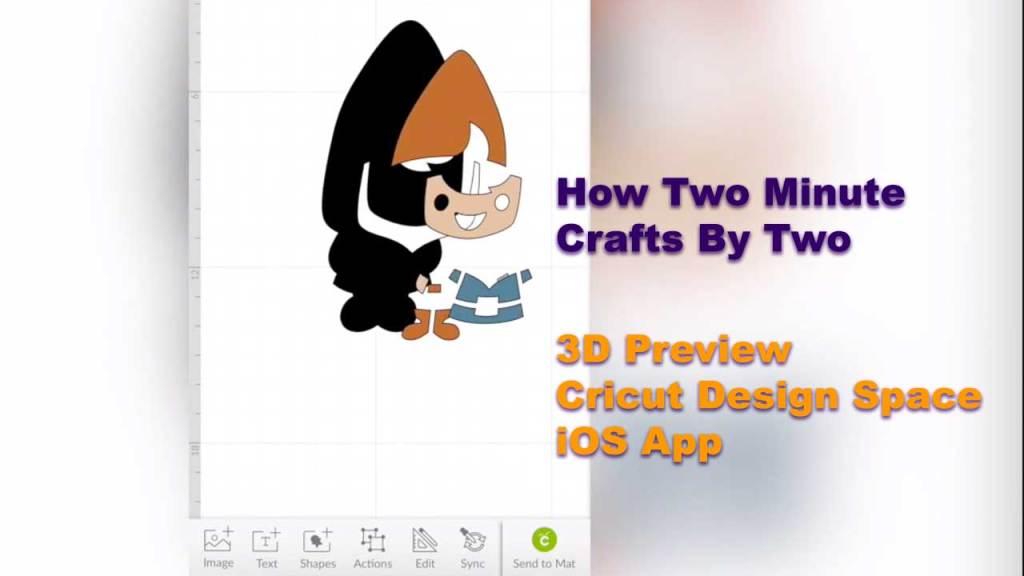 How Two Minute - 3D Preview - Cricut Design Space App