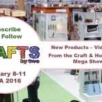 CHA2016 - Crafts & Hobby Association Mega Show 2016