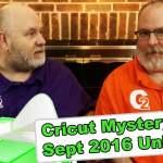 Cricut Mystery Box - September 2016 Unboxing