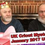 United Kingdom's Cricut Mystery Box - January 2017 Unboxing