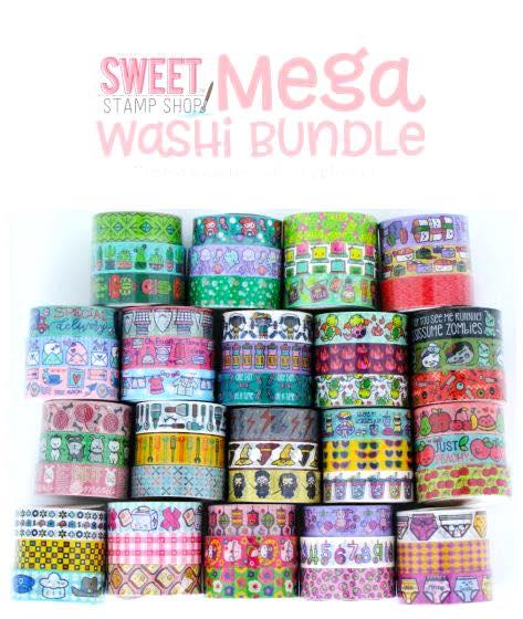 Sweet Stamp Shop - Washi Mega Bundle