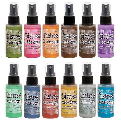 Distress Oxide Spray Release #1 Bundle