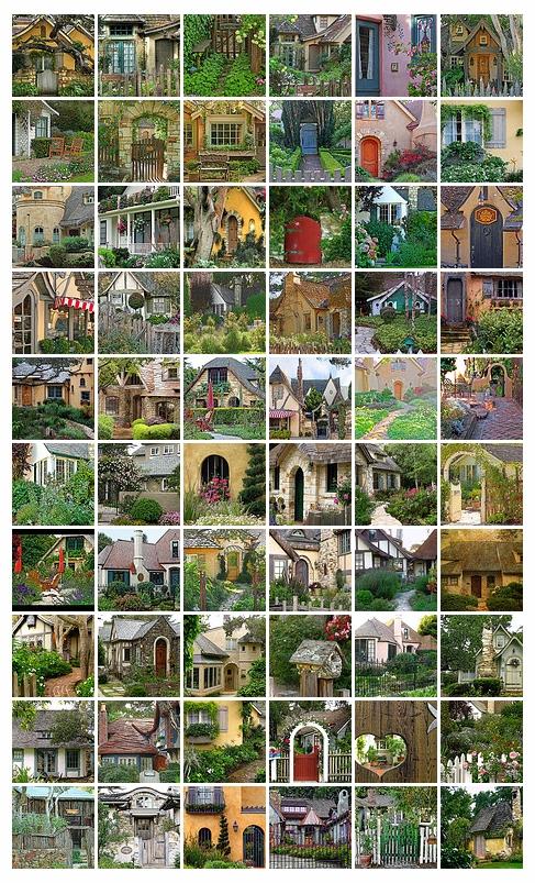 Приказни къщи