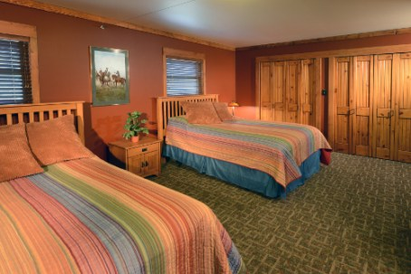 Double Bedroom Upstairs - The Craftsman Lodge