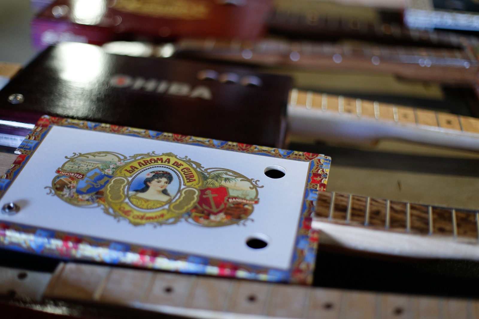 The Cigar Box Guitar Maker | Craftsmanship Magazine, Summer 2015