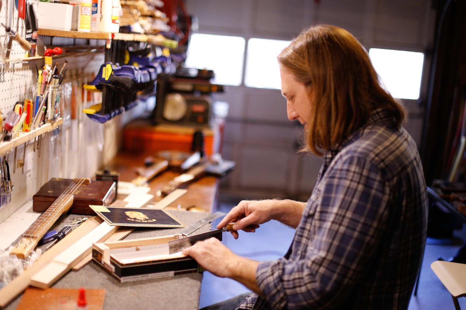 The Cigar Box Guitar Maker | Craftsmanship Magazine, Summer 2015