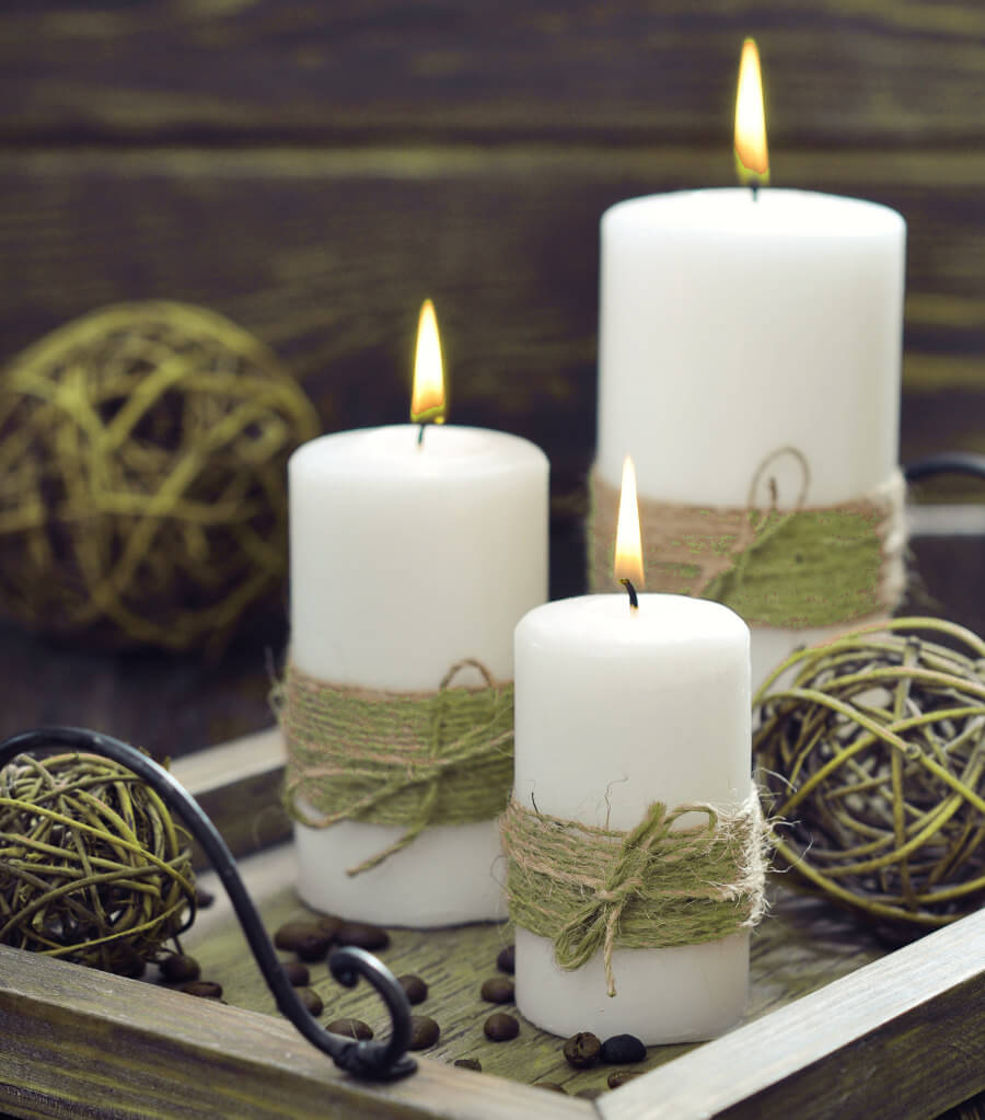 17 DIY Decorated Candle Ideas Youll Love Crafts On Fire