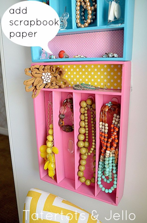 Pretty Jewelry Organizer